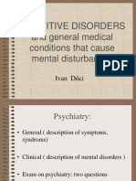 Cognitive Disorders (1)