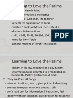 Learning to Love Psalms-Psalm1