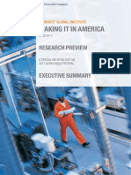 MGI Making It in America Executive Summary