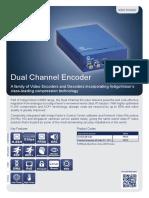 9000 Range Dual Channel Encoder Datasheet A4