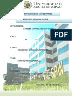 Negocios y Finanzas Internacionales 20.07.17