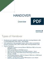 3G Handover Ericsson
