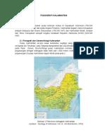 Fisiografi Pulau Kalimantan