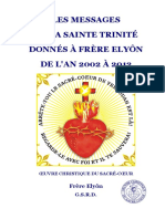 Les Messages de La Sainte Trinite 2002 2012