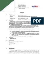 Proposal MRF