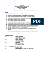 Jobswire.com Resume of lbranscom