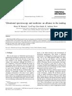 Vibrational Spectroscopy Volume 30 Issue 1 2002 [Doi 10.1016%2Fs0924-2031%2802%2900036-x] Henry H Mantsch; Lin-P'Ing Choo-Smith; R.anthony Shaw -- Vibrational Spectroscopy and Medicine- An Alliance In