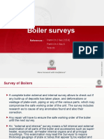 2.1 Boiler Surveys (2013)