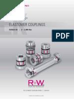 EK Elastomer Couplings