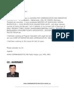 NGO COMM CV-md fazlul haque