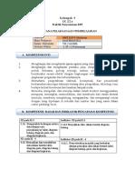 1- RPP Model Pembelajaran Saintifik