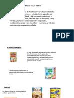 Lineas de Productos Nestle