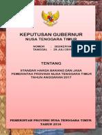 Standar Harga Barang Jasa PemProv NTT Tahun 2017