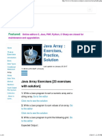 Java Array Exercises_ Array Exercises - w3resource