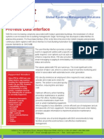 ProTeus Alarm Interface Brochure