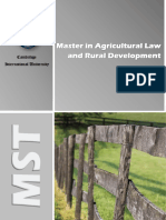 Agricultural Law Rural Development