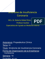 Sindrome de Insuficiencia Coronaria