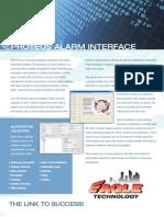 ProTeus v PAI Interface (Alarm Interface)