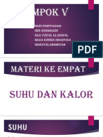Ppt Suhu Dan Kalor Revisi
