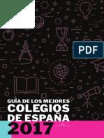 Guia Mejores Colegios Espana 2017
