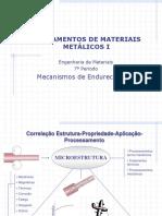 3ª+Aula+-+Fundamentos+de+Materiais+Metálicos+I+-+Mecanismos+de+Endurecimento+de+Metais