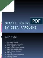Gita Faroughi Oracle Forensic