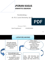 Ppt Laporan Kasus Dermatitis Seboroik
