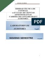 Módulo de Laboratorio de Auditoría