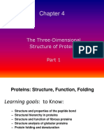 The Three-Dimensional Structures of Protein Part 1