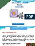 Clasificación y Estructura atómica