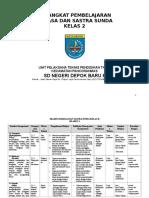 Perangkat Pembelajaran Basa Sunda Basa Sunda SD MI Kelas 2
