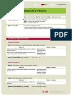 FT ConducaoDefensiva Segurança Rodoviária Psicologia Formação Prática