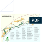 Mapa de UCs do Corredor da Serra do Mar - Reserva da Biosfera