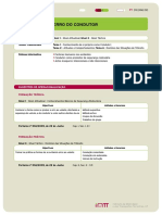 FT ErrodoCondutor Segurança Rodoviária Psicologia Formação Prática