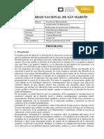 Prog.filoEducación 2016