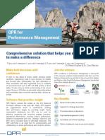 QPR Performance Management Brochure 0