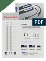 WECO Door Detector Spec Sheets