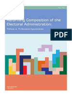 Reforming Composition of the Electoral Administration