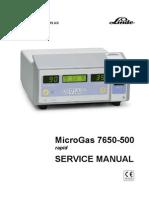MicroGas 7650 Service Manual Feb 05