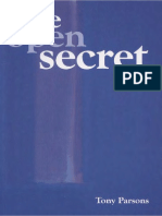 The Open Secret by Tony Parson