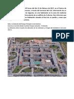 SUPUESTO-A (Incendio Hospital) EXAMEN TIPO PRÁCTICO CONSORCIO VALENCIA 2017
