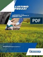 Listino Agricoltura Michelin 2016