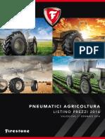 Listino Agricoltura Firestone 2016