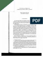 La Const. Política de La Rep. de Chile de 1980 y Su Reforma . Autor Sergio Carrasco D.