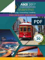 Asce 2017 Preliminary Program