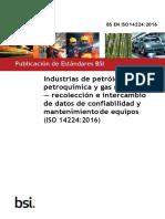 ISO-14224-2016 - ESPAÑOL