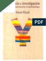 Haack Evidencia e Investigacion Flyer