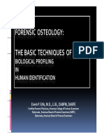 9. Forensic Osteology Lecture