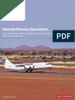 Remote Runway Operations BAE146