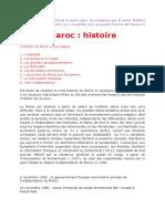 Maroc. Histoire